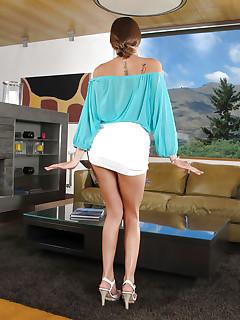Mini Skirt Pics