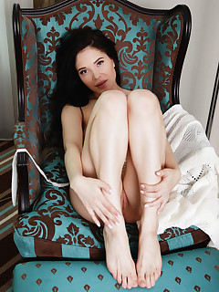 Nude Girls on Chair