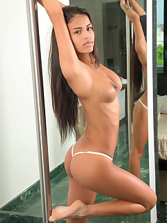 Nude Babes And Mirror