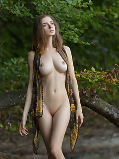 Cute Girls in Forest