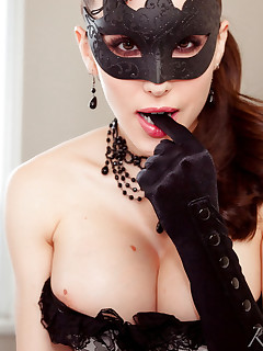 Girls in Mask XXX Pics