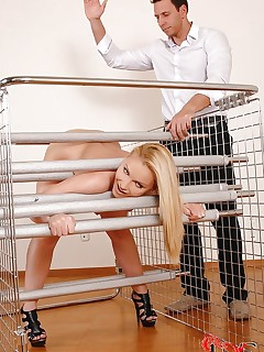Perfect girls having bondage fun