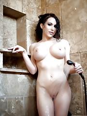 Katie Banks Showering