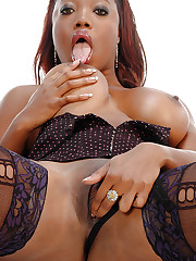 Lexi Martinez plays with juggs and dildo