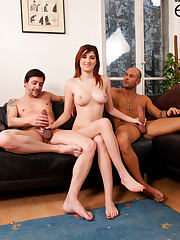 Miss Lilith sandwiched by two boys, DP… (first part)