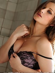 in her first explicit pictorial ever