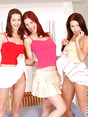 Sexy girls gabina and lucy have fun with thier lesbian..