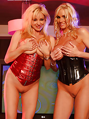 Allie Chase and Rachel Aziani