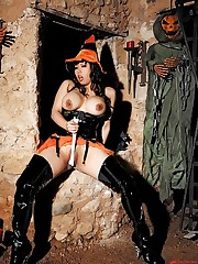 Busty Asian witch is totally horny!