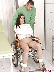 Sexy Patient gets her holes worked