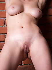 Aphrodita displays her luscious body with big tits and she..