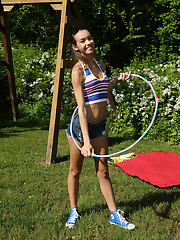 HULA AND HOOPING with Charity Crawford - ALS Scan