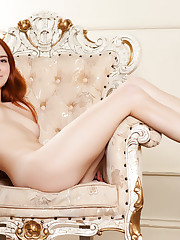 Newcomer Kelly G bares her beautiful tits and trimmed..