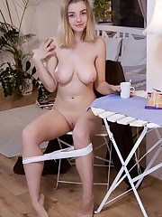Daniel Sea starts her day with a morning masturbation