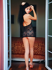 Sultana shows off her delectable body as she sensually..