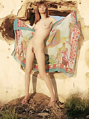 Iren F shows off her tight body with perky tits as she..