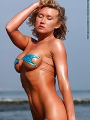 Tiny Blue Bikini