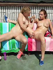 FRIENDLY COMPETITION with Amy Pink, Antonia Sainz - ALS Scan