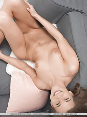 Sarah Kay strips her sexy lingerie as she bares sexy,..