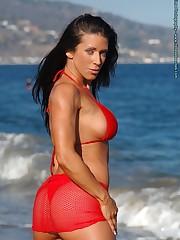 Red Mesh Beach