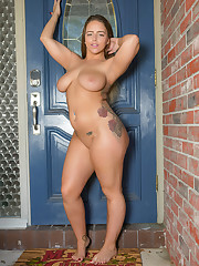 dezire in the doorway