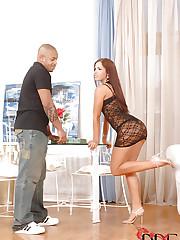 Luscious harlet Jane enjoys a cock