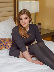mary elle on the bed