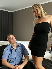 Katarina Hartlova is ready to make her boyfriend David's..