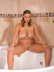crystal in the bathtub