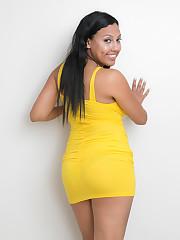 cassie's yellow dress