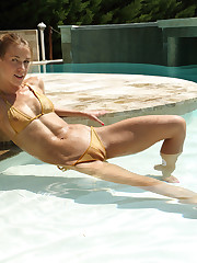 SPICY SUNBATHER with Alexis Crystal - ALS Scan