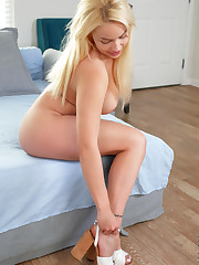 Hot and horny, Kylie Page is an insatiable American coed..