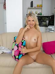 svetlana on the couch