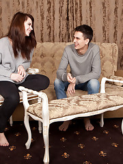 Ultima and her boyfriend Jacque play a naughty game of..