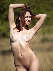 Barbara Vie flaunts her sexy, tight body and sweet pussy..
