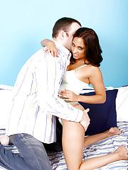 Erotic reena getting licked on her cute nipples by hunk stud