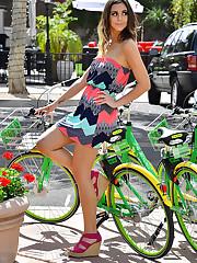Modeling The Sun Dress