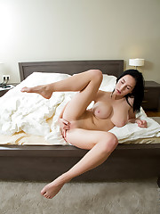 Busty Semija is going to blow your mind with her huge all..