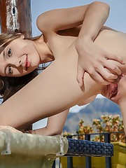 Mila Azul beats the hot and humid weather with an equally..