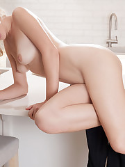 Genevieve Gandi bares her delectable body and sweet pussy..