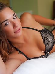 jocelyn on the bed