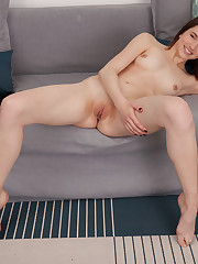 Newcomer Laure Lynn flaunts her nubile body as she poses..