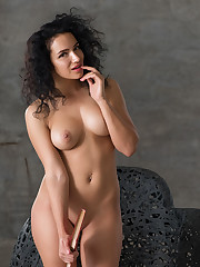 Yulianna shows off her luscious body and sweet breasts in..