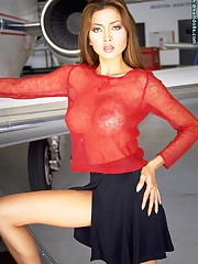 Flies Sexy in Red