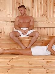 A sauna for foot fucking frenzies!