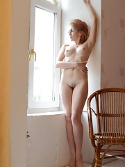 Alluring blonde Monroe flaunts her soft, creamy body as..