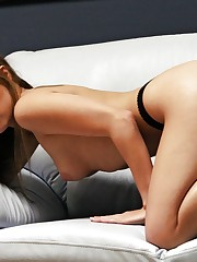 is an amazingly cute girl in artistic nudes