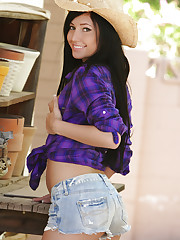 Saddle up boys! Cowgirl Catie Minx is looking for..