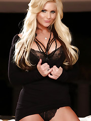 Stunning busty blonde, Phoenix Marie, is smoking hot in..