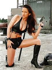 Sexy Redhead Merc Daniella